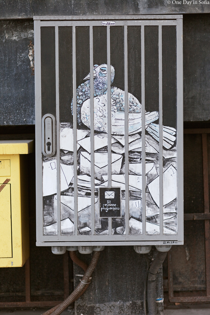 Il pigione prigioniero street art
