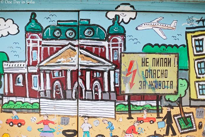 National Theater street art