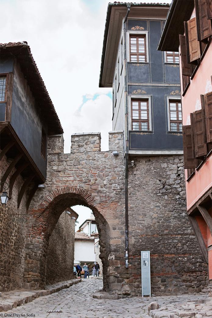 Hisar Kapiya stone archway