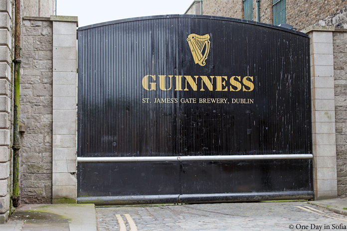 Guinness brewery gate
