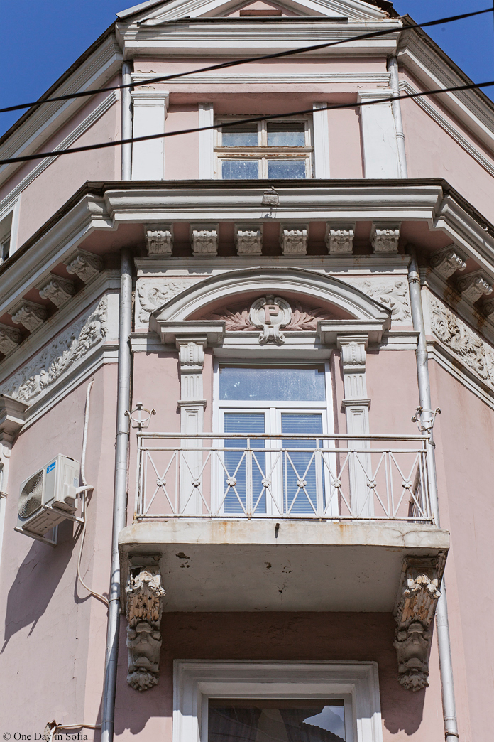 sunlit balcony