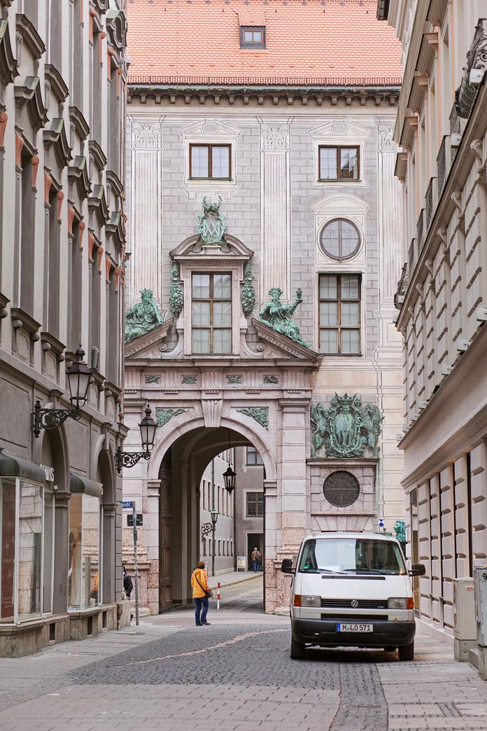 Munich archway