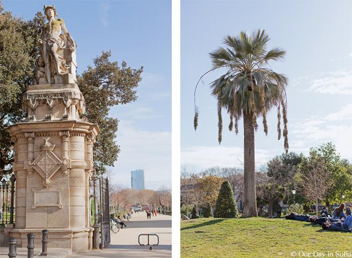 Parc de la Ciutadella entrance