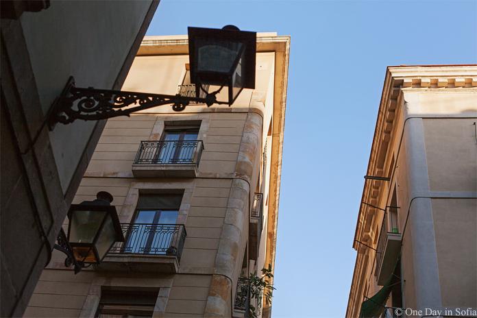 buildings in El Raval
