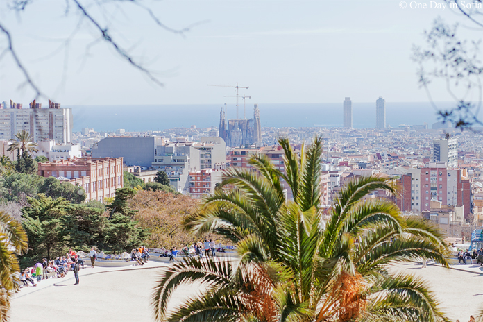 Sagrada Familia from Park Guell