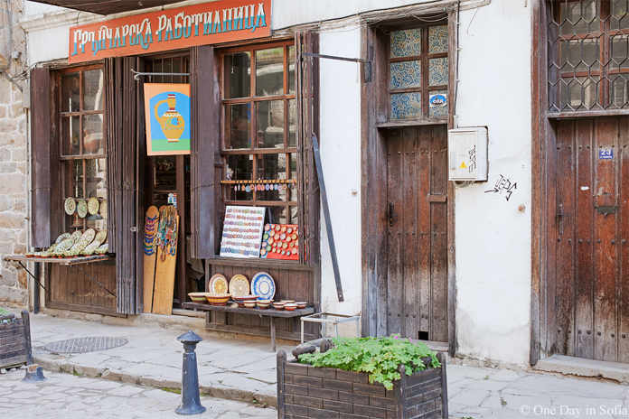 pottery workshop on Samovodska Charshiya