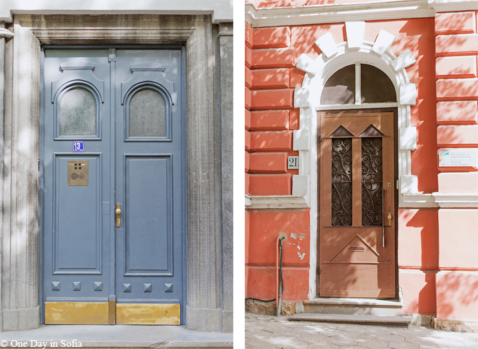 front doors in Sofia