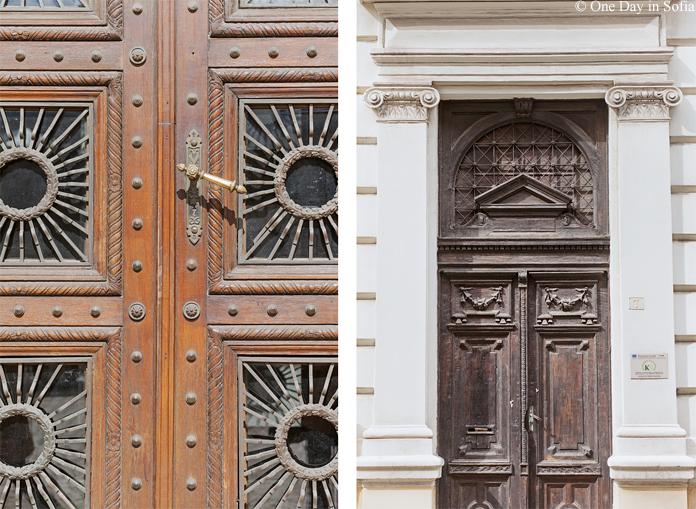 Sofia doors details