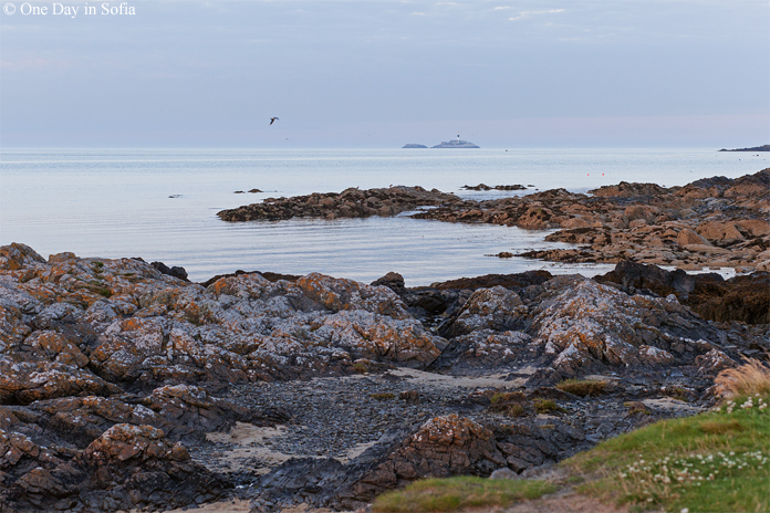 Skerries rocky coast