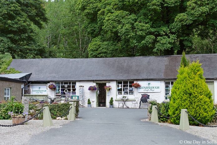 Glendalough craft shop
