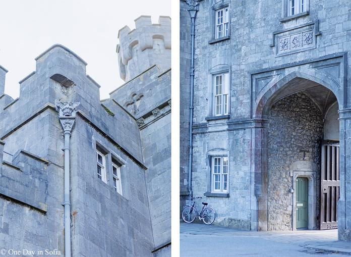 Kilkenny castle gate