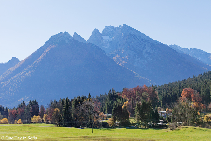 Alps peaks in Bavaria