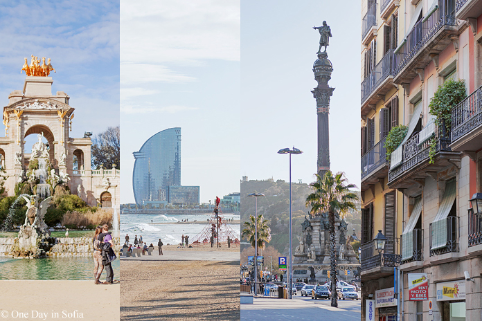 scenes from Barcelona