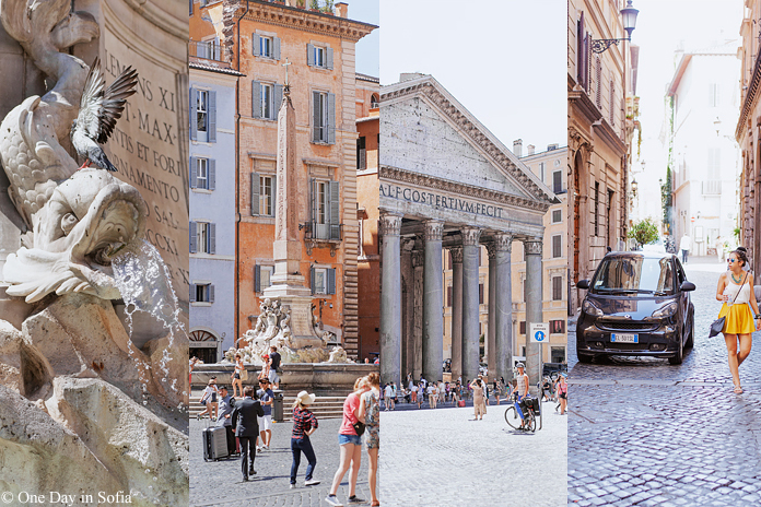 scenes from Rome