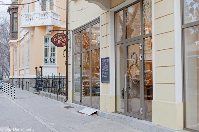 Cakey Bakey bakery in Sofia
