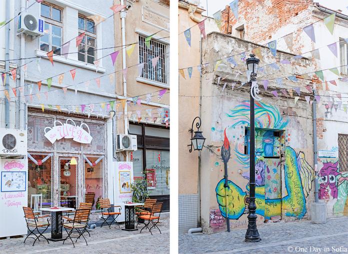 Shen cafe in Kapana, Plovdiv