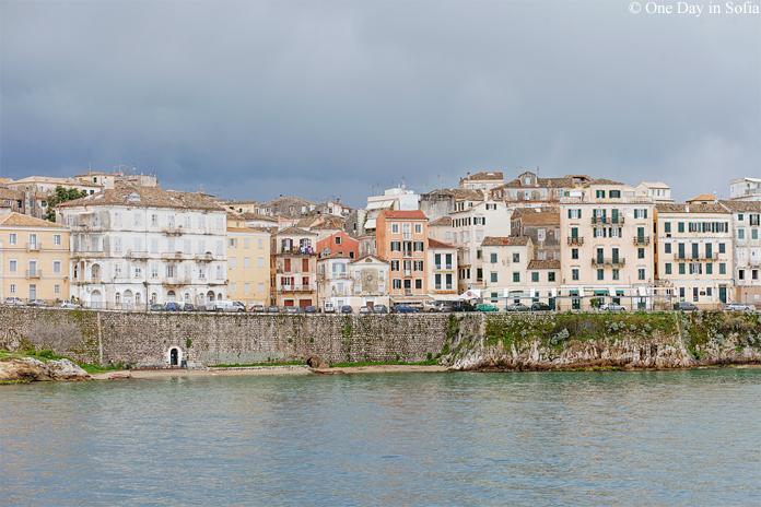 Kerkyra Old Town, Corfu island