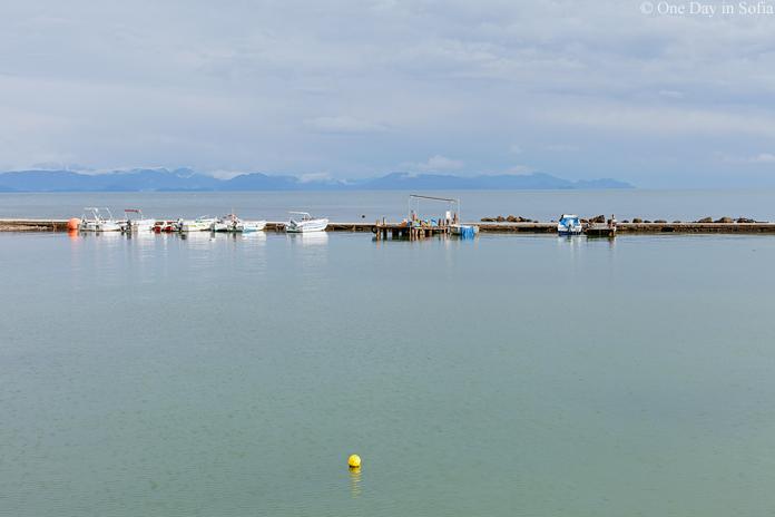 boats on Corfu island