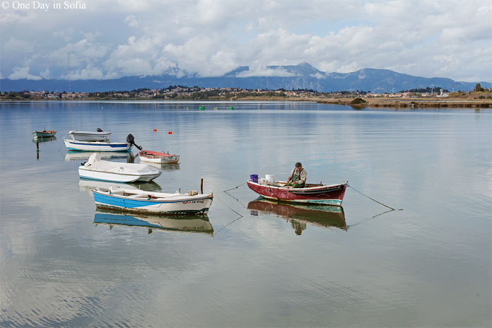 fishing boats, Corfu island