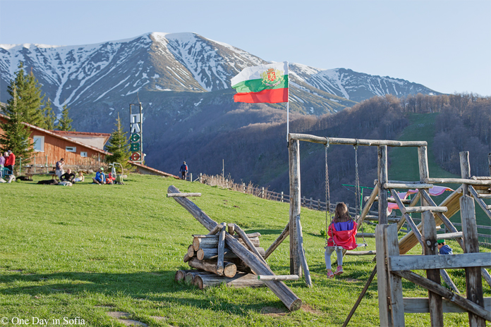 playground at Pleven hut, Balkan mountains