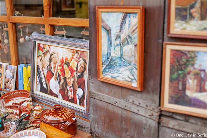 Bulgarian maidens painting