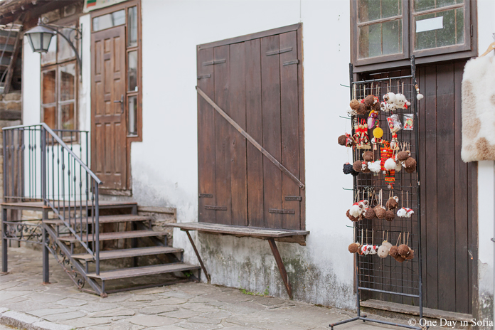 souvenirs on the street Tryavna