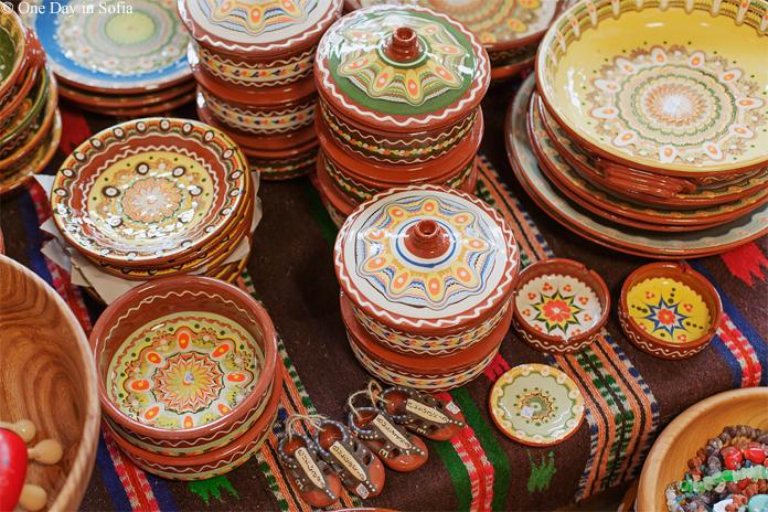 Bulgarian clay pottery