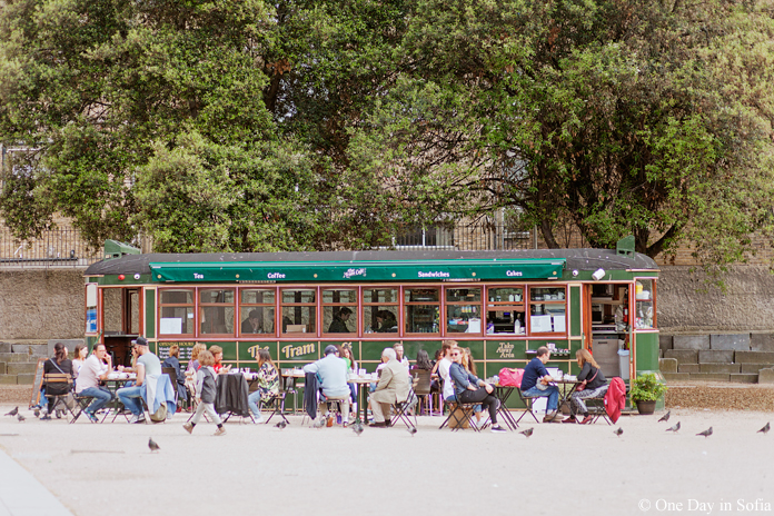The Tram cafe in Dublin