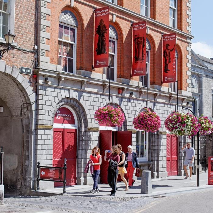 Smithwicks brewery in Kilkenny