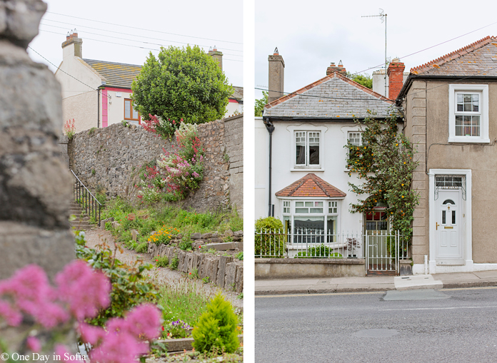 houses in Howth, Ireland