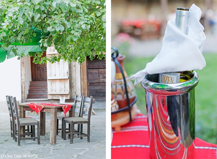 Lozen wine at Kalincheva house tavern