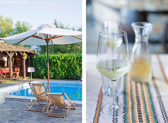 Svatovete hotel pool, Bulgaria