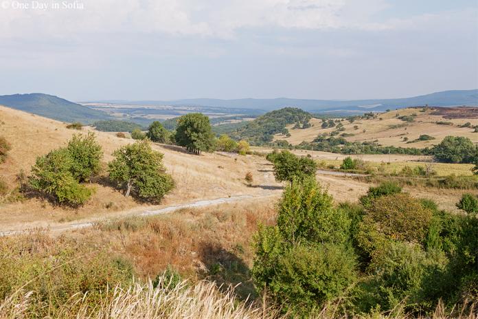 country fields near Zheravna,Bulgaria