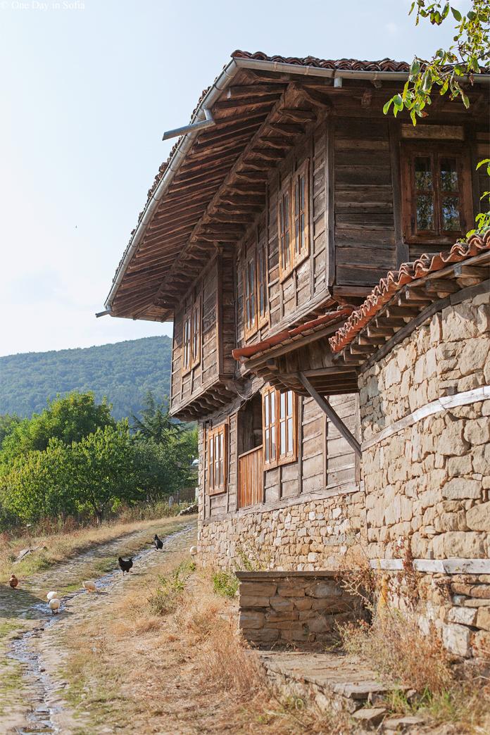 house at Zheravna village, Bulgaria
