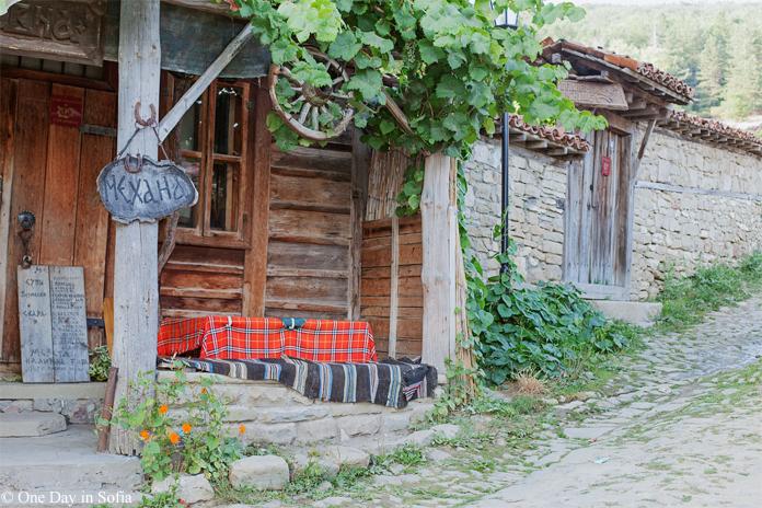 Tavern in Zheravna, Bulgaria