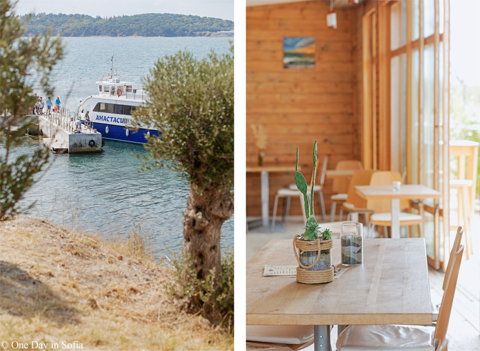 cafe at St. Anastasia island