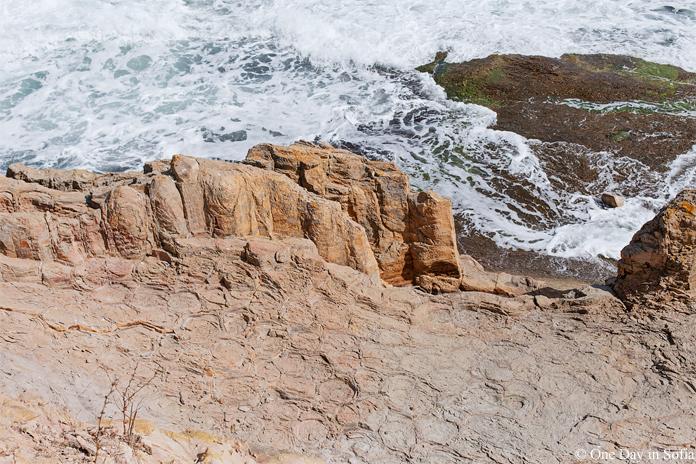 rocks at St Anastasia Island