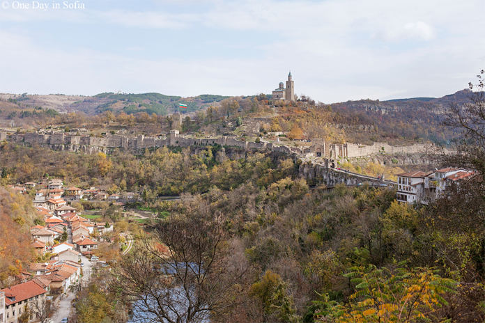 Veliko Tarnovo in autumn