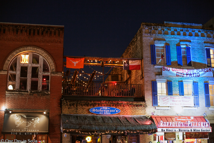 6th street bars in Austin