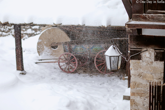 snow in Etar, Bulgaria
