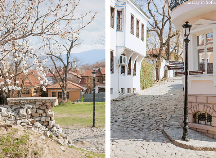 Old Plovdiv in Spring