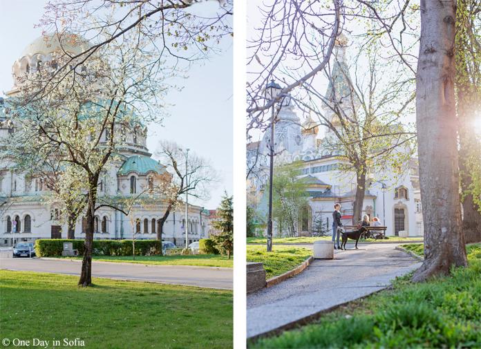 spring in Sofia