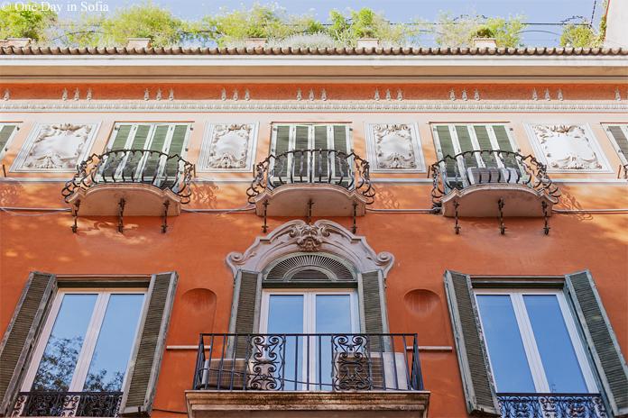 Rome balconies