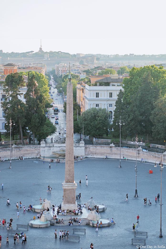 obelisk in Piazza del Popolo