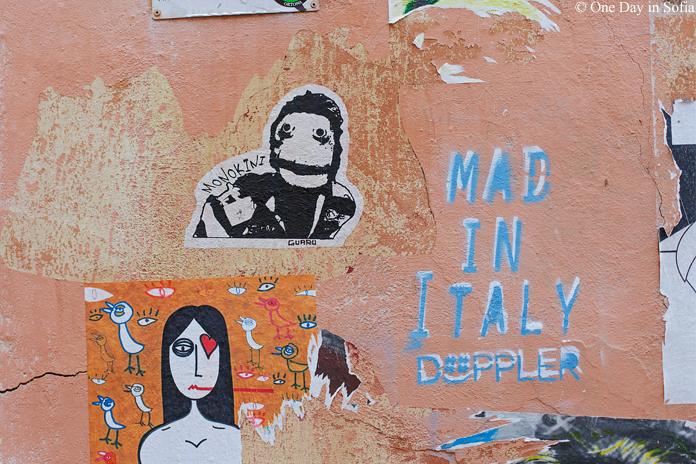 street art in Rome